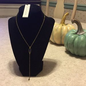 Treasure & Bond Jewelry - BNWT TREASURE & BOND BLACK DRUZY NECKLACE